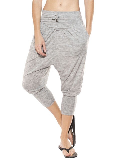 super.natural Harem Pants Women Ash Melange